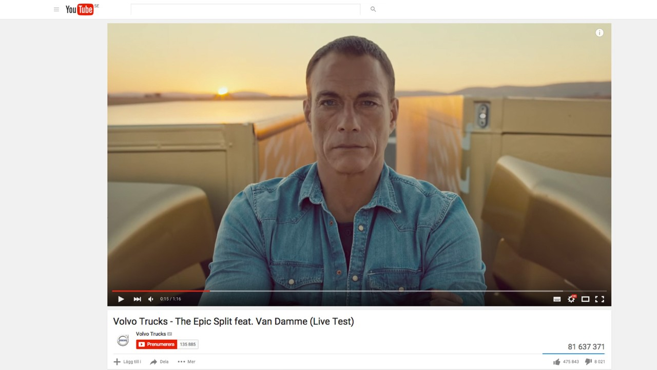 Videos de Volvo Trucks en YouTube
